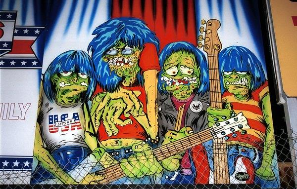 """""""The Ramones"""" es una de las bandas más influyentes dentro del Punk."""