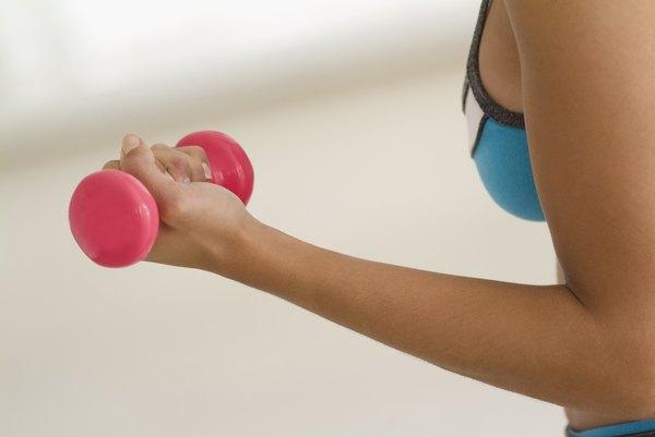 Dumbbell Exercises for Beginners - Woman