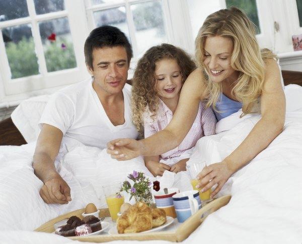 Lo más saludable: un desayuno en familia.