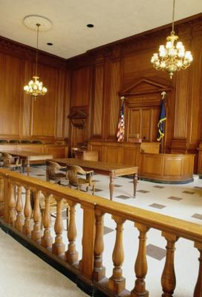 Court will be less intimidating if you know your retirement is secure.