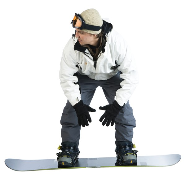 a snowboarding stance for a beginner woman. Black Bedroom Furniture Sets. Home Design Ideas
