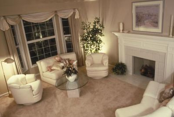 Formal Living Room Curtains & Decorations | Home Guides | SF ...