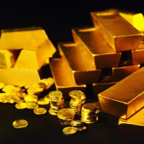 Depositories store gold coins, bars and ingots.
