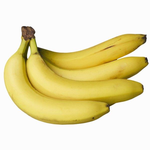 A banana é fonte de vitaminas e minerais