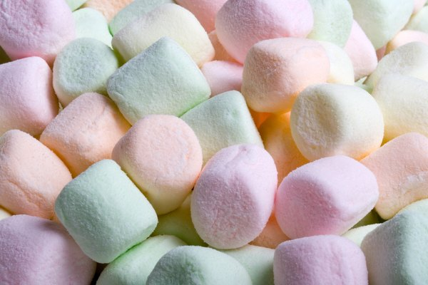 Mini marshmallows.