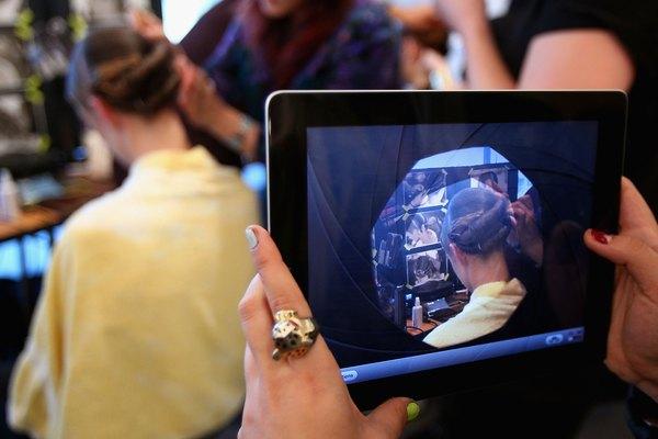 Tablet: fotos, vídeos e webcam