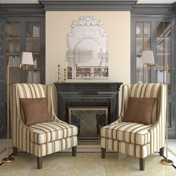 What Color To Paint A Bookcase Next To A Fireplace Home Guides