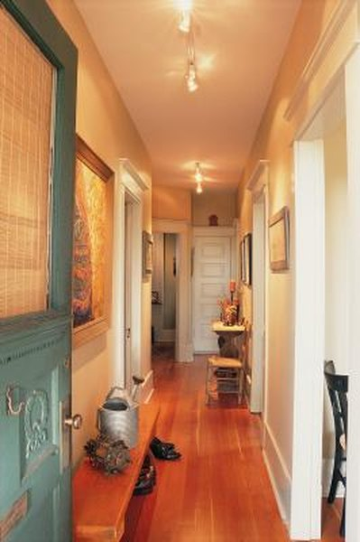 How To Make A Long Hallway Look Shorter Home Guides Sf Gate