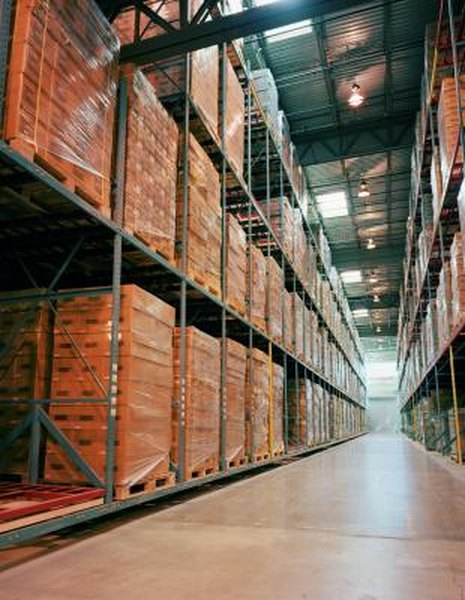 Leasehold improvements include structures built in a warehouse leased long-term.