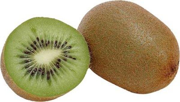 How To Eat Kiwi Fruit Woman