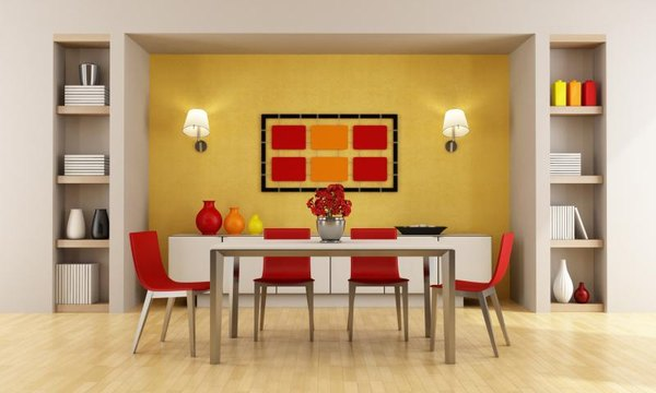 What Color Would Go With Red in the Dining Room?   Home ...