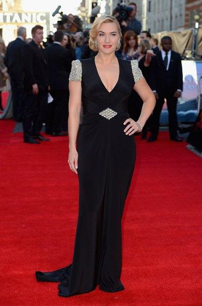 Kate Winslet sabe como contornar as marcas do tempo