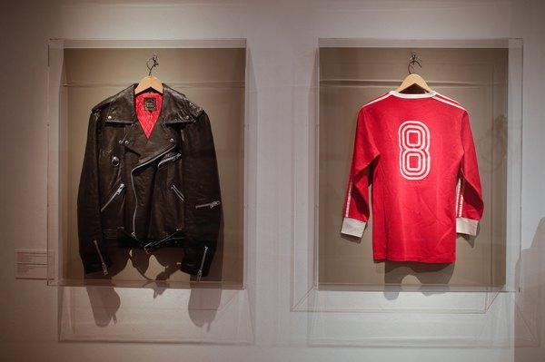 Remera Bayern Munich en exposición