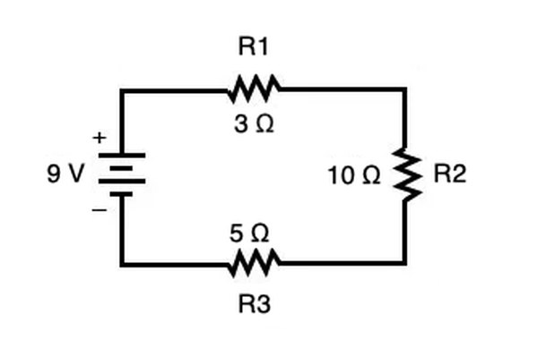 How To Calculate Amperage In A Series Circuit