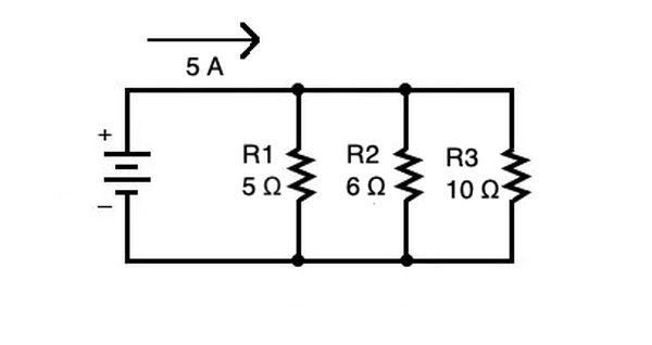 The voltage drop in a parallel circuit depends on the current and resistance in each branch.
