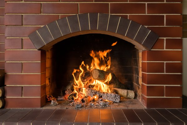 How To Paint Your Home And The Interior Brick Fireplace Home