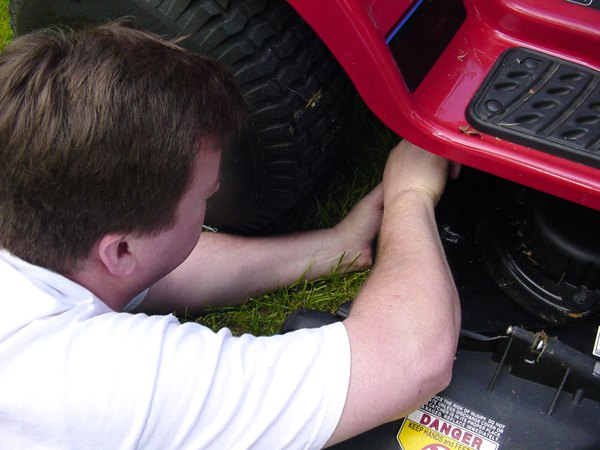 How to Adjust Tension on the PTO of a Troy-Bilt Pony   Home Guides Murray Hp Ignition Switch Wiring Diagram on kohler sv530 ignition wiring diagram, murray 14.5 ohv wiring-diagram, ignition coil wiring diagram, starter wiring diagram, murray lawn tractor parts diagram, murray ignition switch exploded view,