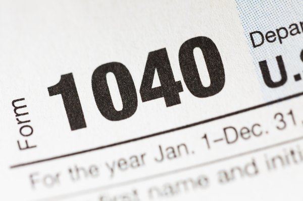 Federal Tax Instructions for Form 1040A