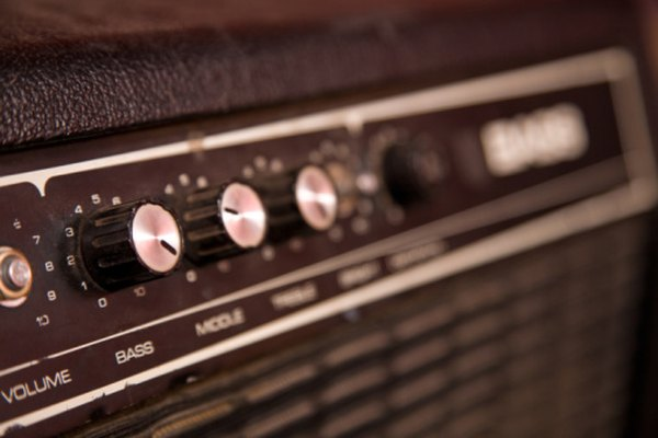 The gain of an amplifier can be measured in decibels.