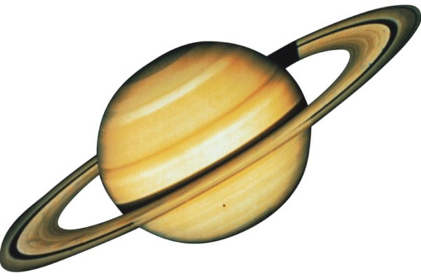 Saturn's density is so low that it can float on top of water.