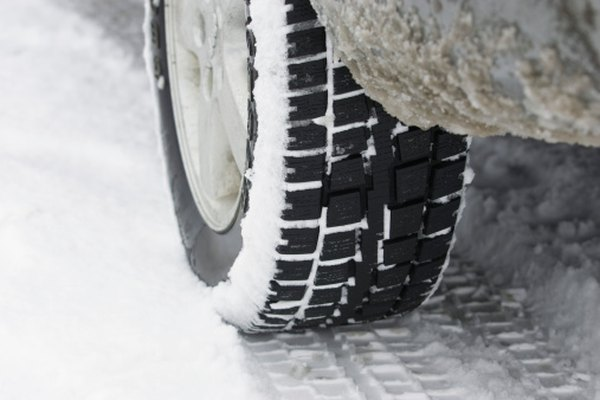 Snow and icy conditions are taken into consideration when determining speed.