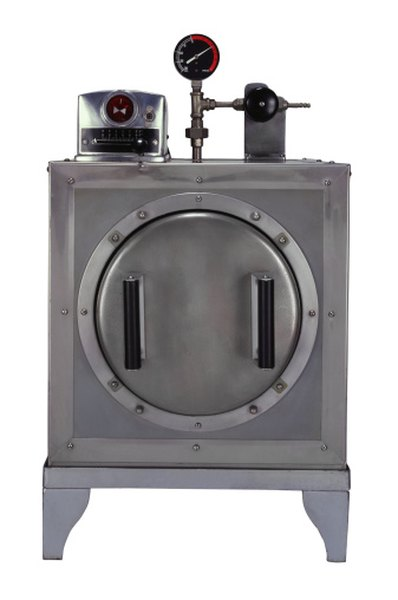 Autoclaving sterilizes the agar to prevent contamination with other micro-organisms.
