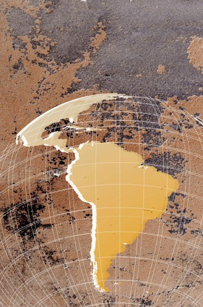 South America is well-defined and has a distinct shape, making it easy to locate on a map.
