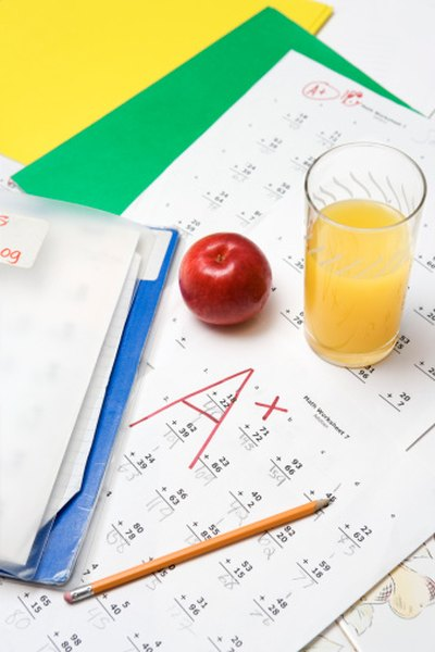 Weighted averages are used to calculate final grades.