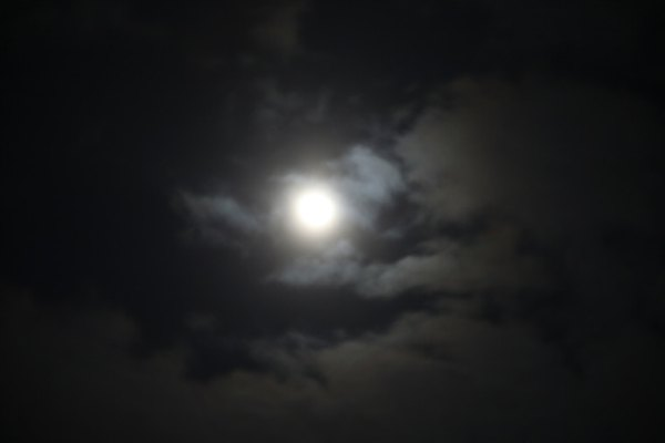 The moonlight we see from earth is actually sunlight reflecting off of the moon.