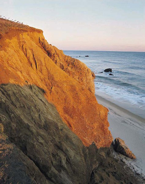 Martha's Vineyard lies within the Embayed Section of the Atlantic Coastal Plain.