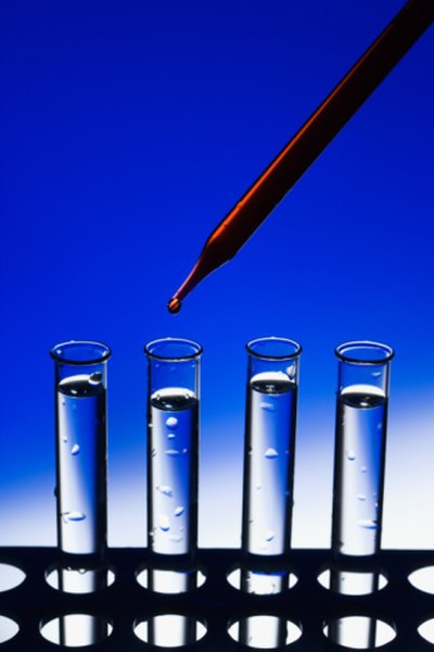 Hydrometers can be attached to test tubes.