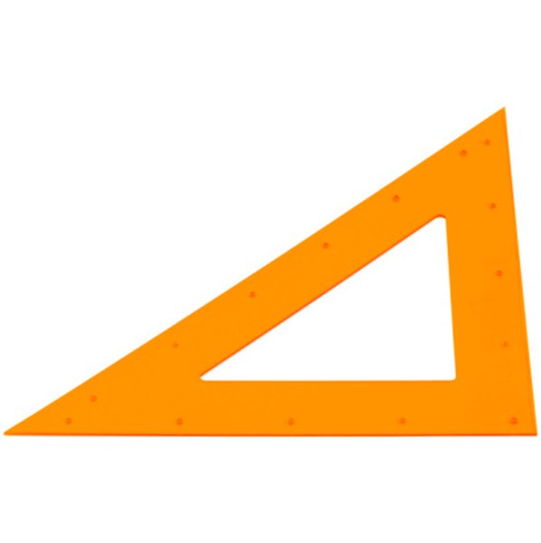 Core trigonometry involves determining the angles of two sides of a right triangle.
