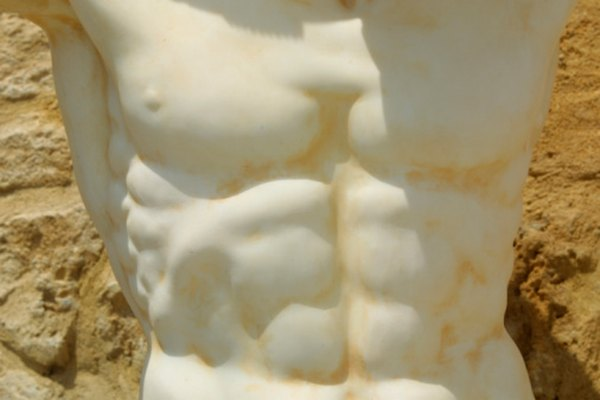 Marble was the stone of choice for ancient sculptors.