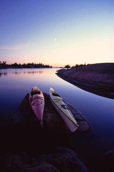 Kayaking and other forms of recreation take place on many U.S. bodies of water.