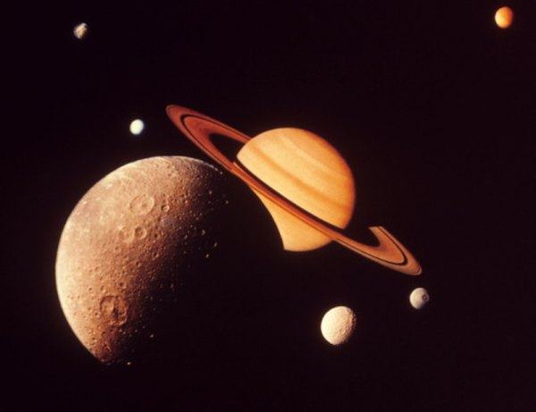 Saturn has 62 moons, or satellites.