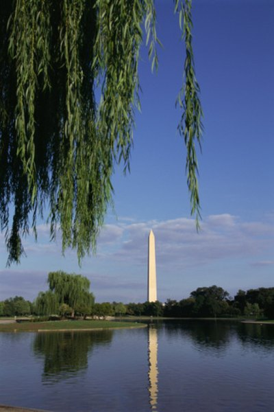 The ever-recognizable Washington Monument is a granite obelisk.
