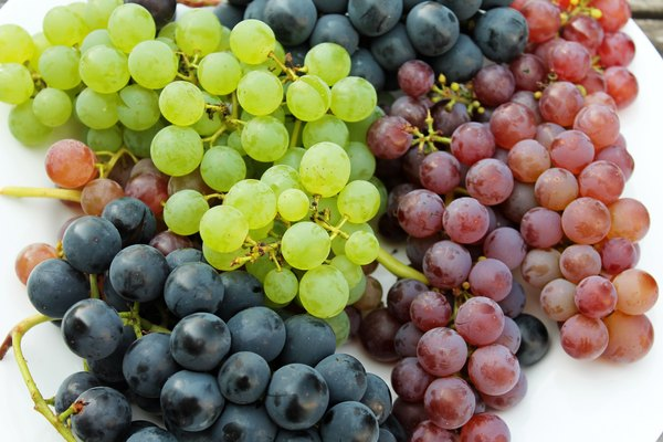 How Much Minerals Do Grapes Have Healthy Eating Sf Gate