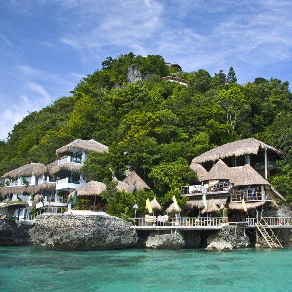 A ilha de Boracay faz pensar que estamos em Shangri-La