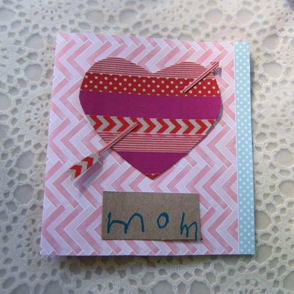 Cartões com fita são simples de se fazer e ficam lindos!