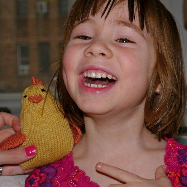 A criança vai amar a galinha!