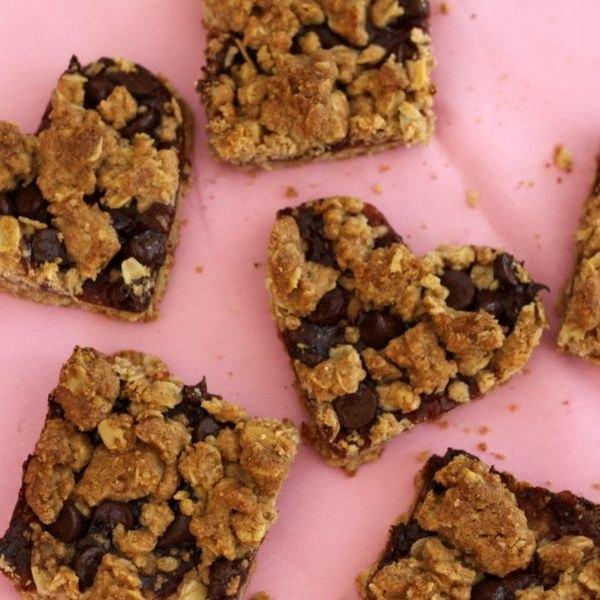Estes biscoitos de aveia, chocolate e morango são supersaudáveis