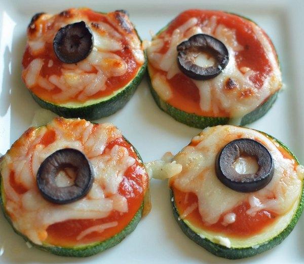 Pizzas de abobrinha são deliciosas e saudáveis