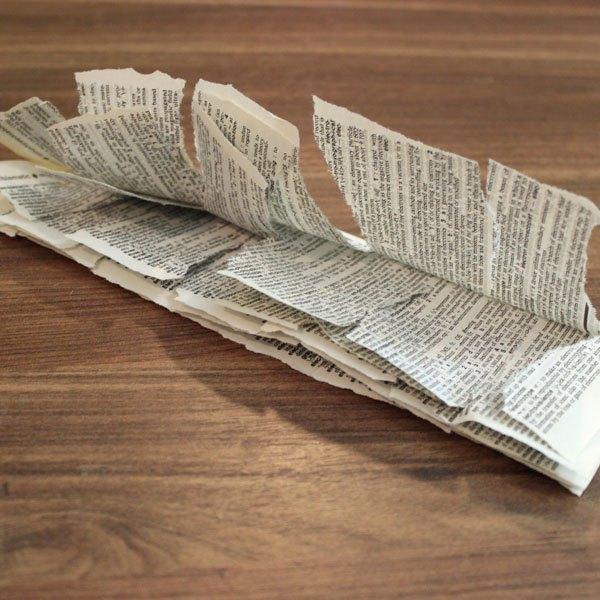 Corte as páginas