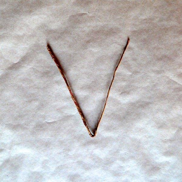 """Arame floral em forma de """"V"""""""