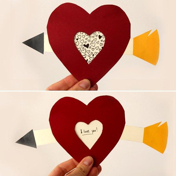 Faça um cartão com partes móveis neste Dia dos Namorados