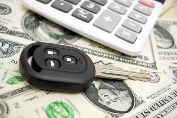 What is supposed to happen when you trade in a car with an existing loan balance?
