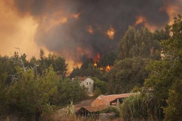drought and thunderstorms are perfect conditions for wildfires
