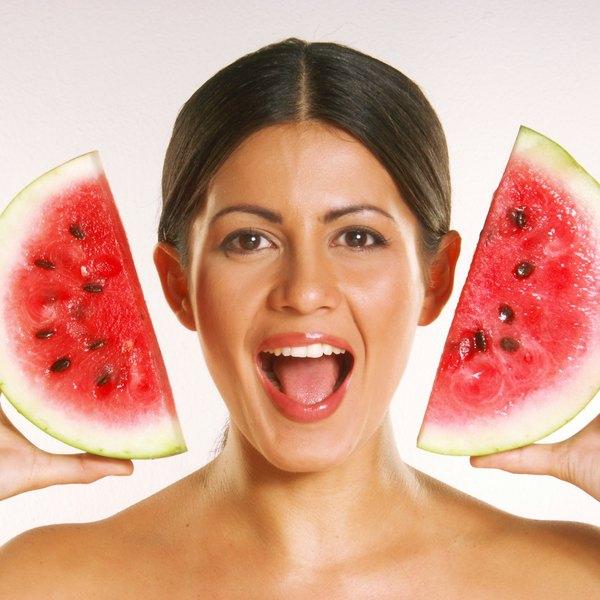 A melancia é composta por cerca de 92% de água