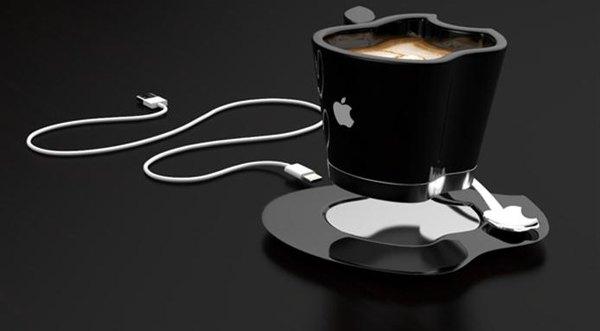 Apple maníacos vão amar esta xícara