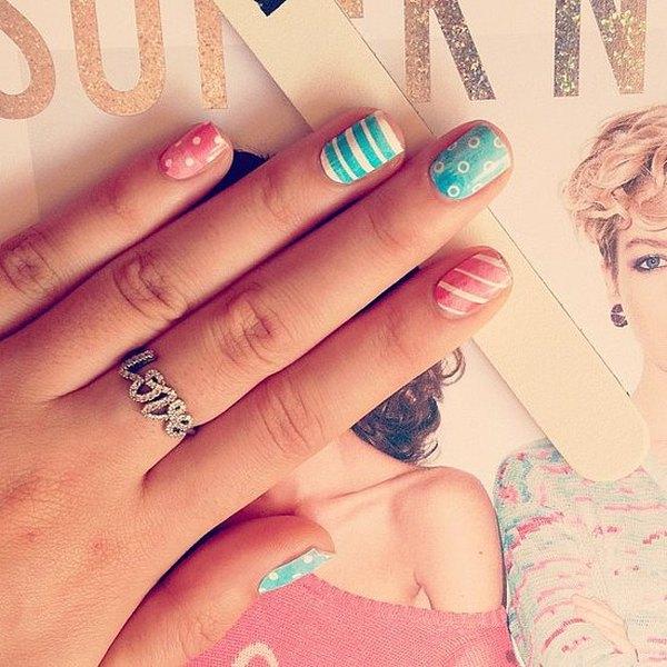 Observa los 10 diseños más lindos de arte en uñas.